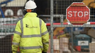 Carillion collapsed in January with huge debts.