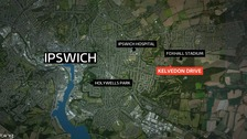 The incident happened in Ipswich last weekend