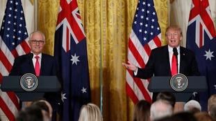 turnbull and trump