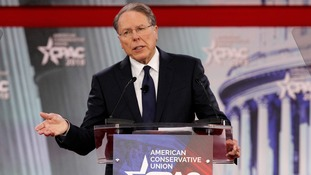 NRA executive vice president Wayne LaPierre slammed talk of tougher gun control.