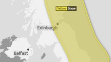 Advanced Snow Warning for Tuesday