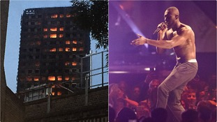 Stormzy supported the petition launched by Grenfell survivors.