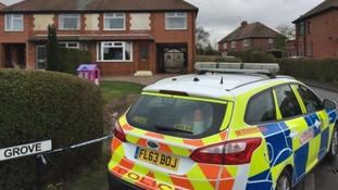 Daisy's house was cordoned off following her death.