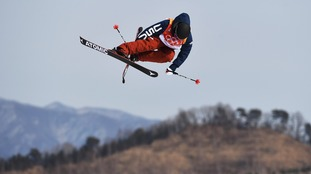 British-born Gus Kenworthy is an Olympic freestyle skier for the US.