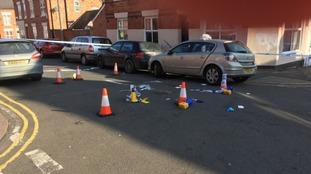 Photo of the scene in Dannett Street