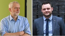Ben Bradley (right) has apologised to Jeremy Corbyn.