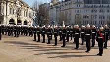 Royal Marines receive Freedom of Birmingham City