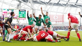 Ireland won their 10th consecutive international rugby win with a thrilling victory over Wales in the NatWest 6 Nations