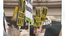 Community groups unite in fracking protest