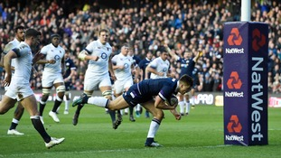 Scotland won their first Calcutta Cup clash in a decade and dented England's hopes of a Six Nations Championship