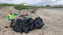 Crossgar boy awarded for tackling litter on our beaches