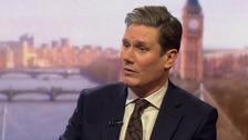 Starmer: Labour supports a customs union with EU