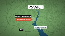 Man arrested on suspicion of kidnap in Ipswich