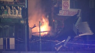 .Five people have been taken to hospital following the blast.