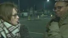 ITV News Central correspondent Stacey Foster hearing from residents affected by the explosion
