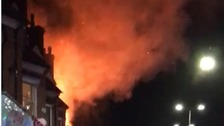 Four people critically injured after explosion in Leicester
