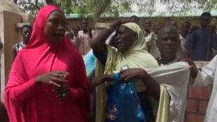 Search for 110 missing girls after Boko Haram attack in Nigeria