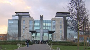 Peterborough City Hospital.