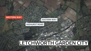 Woman injured after dog attack in Letchworth.