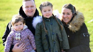 Mum told young daughters can visit during USA cancer treatment thanks to the generosity of strangers