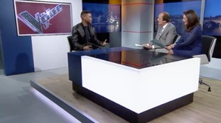 Fred and Stacey chat to Donel, star of The Voice