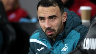 Midfielder Leon Britton has not played since October.