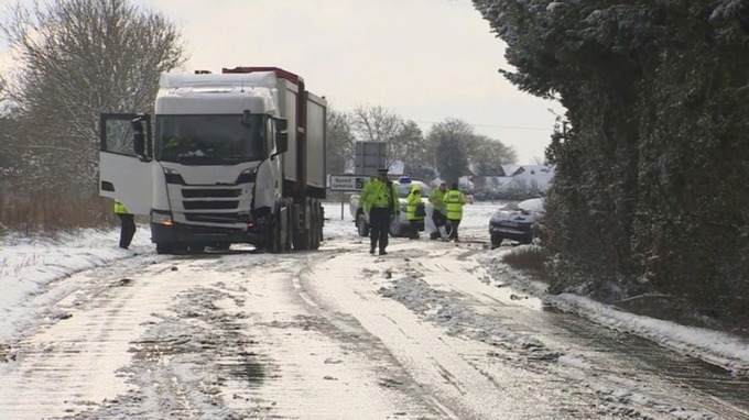 Image result for London A15 Road Accident Killed Three People