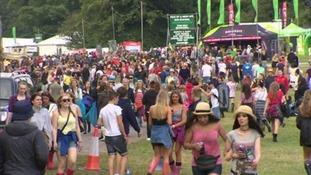 V Festival has taken place in Weston Park since 1999.