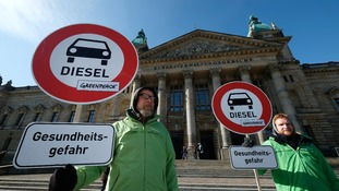 German cities set to ban diesel cars to reduce air pollution