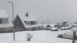 Whistable in the snow