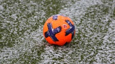 Several football matches have been called off.