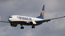 ryanair fly fra billund