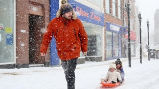 Beast from the East: Your photos