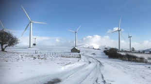 Wharrels wind farm near Moota