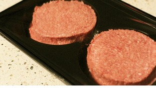 File photo: beef burgers