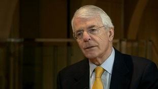 Sir John Major: 'Real danger' UK will leave the EU without a final Brexit deal