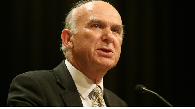 Vince Cable at the Liberal Democrats' annual conference last September