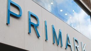 A Primark sign.