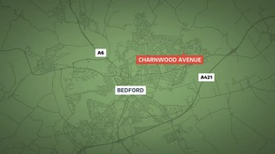 A man was killed at Charnwood Avenue in Bedford