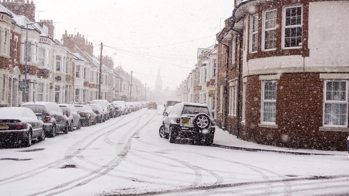Motorists have been advised against all but essential travel.