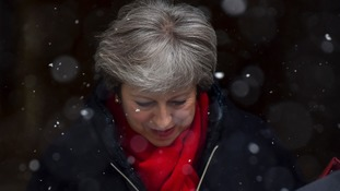 Theresa May is facing growing dissent over her Brexit plans.