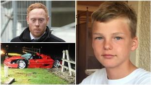 Businessman Matthew Cobden found guilty over Ferrari crash that killed 13-year-old Alexander Worth