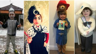 In pictures: Schoolchildren get into character for World Book Day
