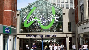 Whitgift shopping centre in Croydon