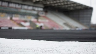 A pitch inspection will take place at Morecambe ahead of their game with Colchester at Midday