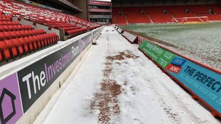 Norwich City's game with Barnsley is subject to a pitch inspection