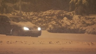 Emergency services continue to help stranded motorists as Storm Emma affects travel.