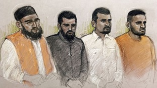 From the left: Muhammad Abid, Umar Haque, Abuthaher Mamun and Nadeem Patel