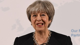 Prime Minister Theresa May.