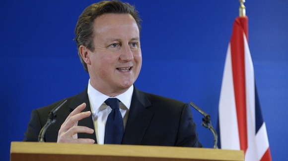 David Cameron seen during a previous EU meeting in Brussels last year